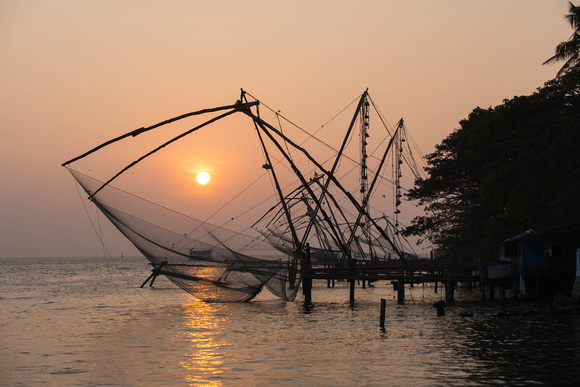 Cochin, Chinese fishing nets